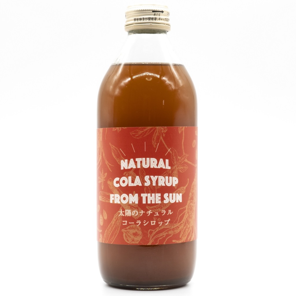 NATURAL COLA SYRUP FROM THE SUN 正面