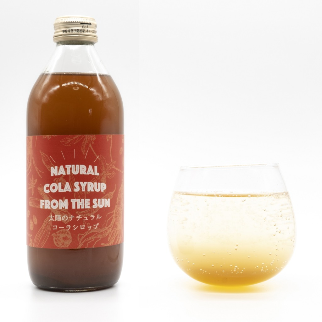NATURAL COLA SYRUP FROM THE SUN 全体