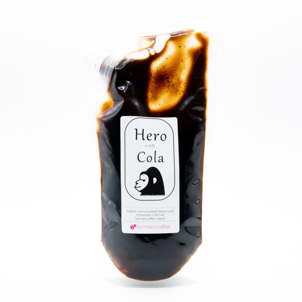 Hero Cola、正面