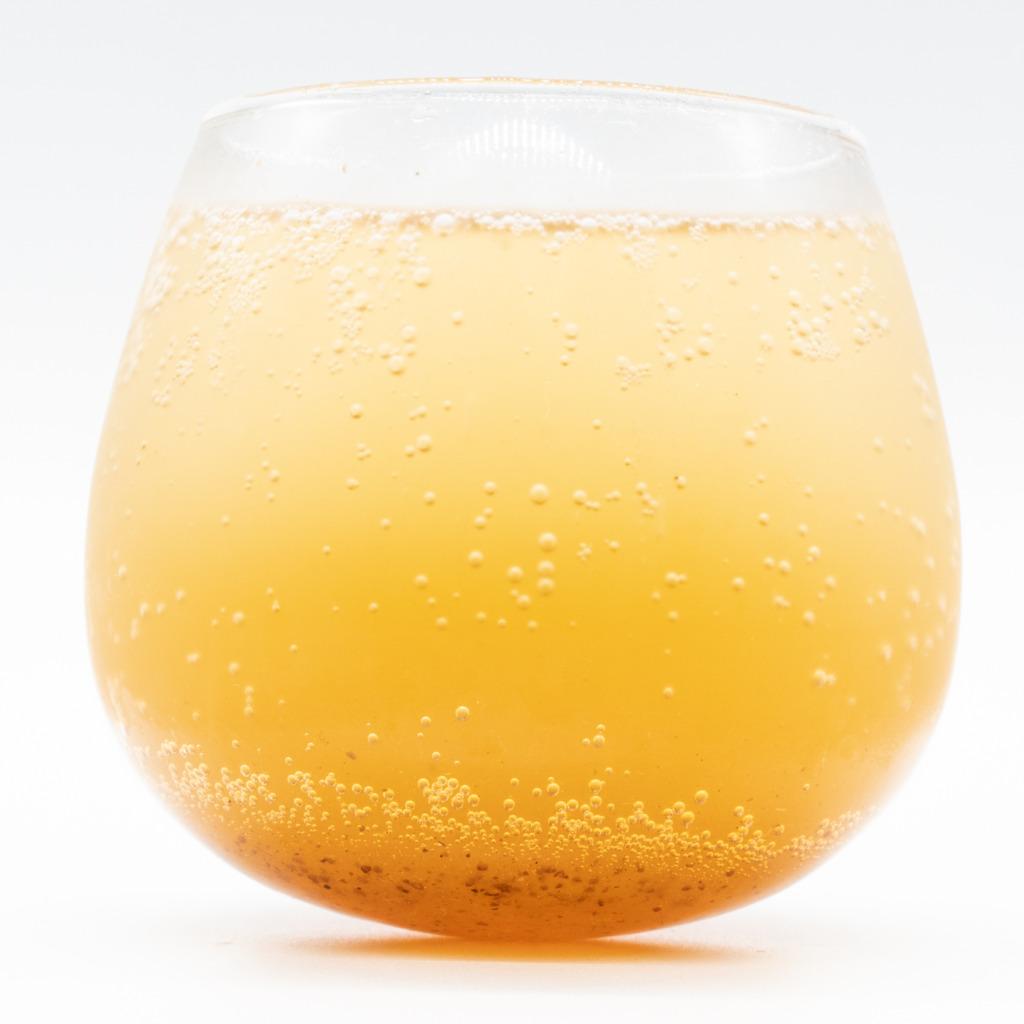 パーティータイムクラフトコーラ、グラス