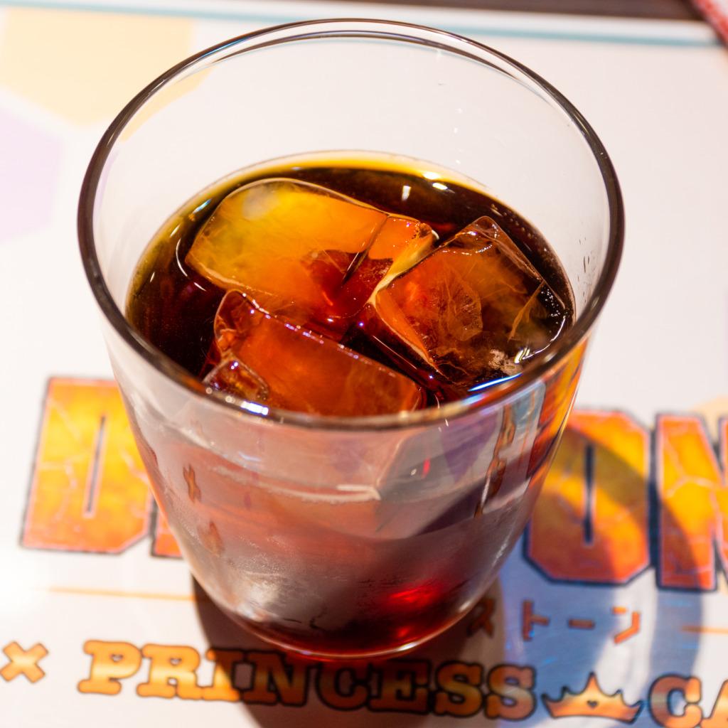 千空特製コーラ、グラス
