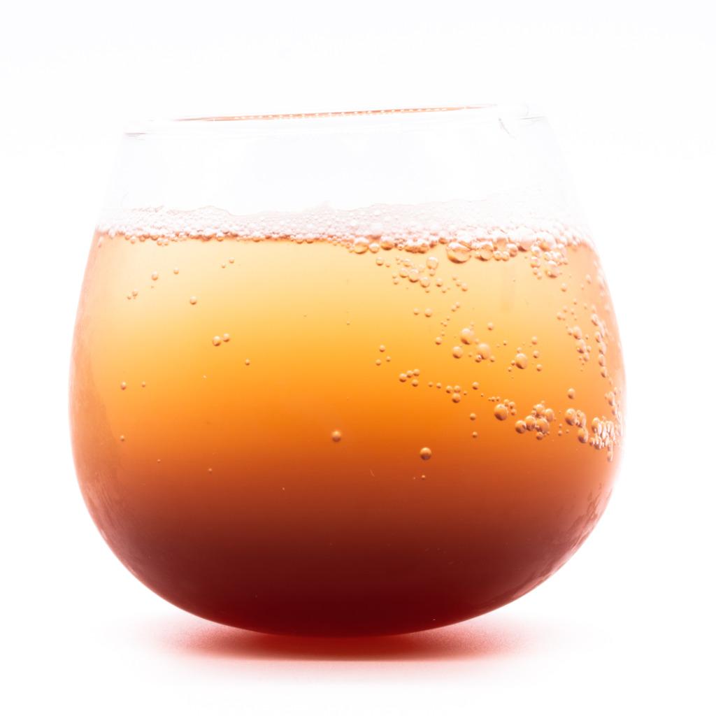 100年コーラの素、グラス