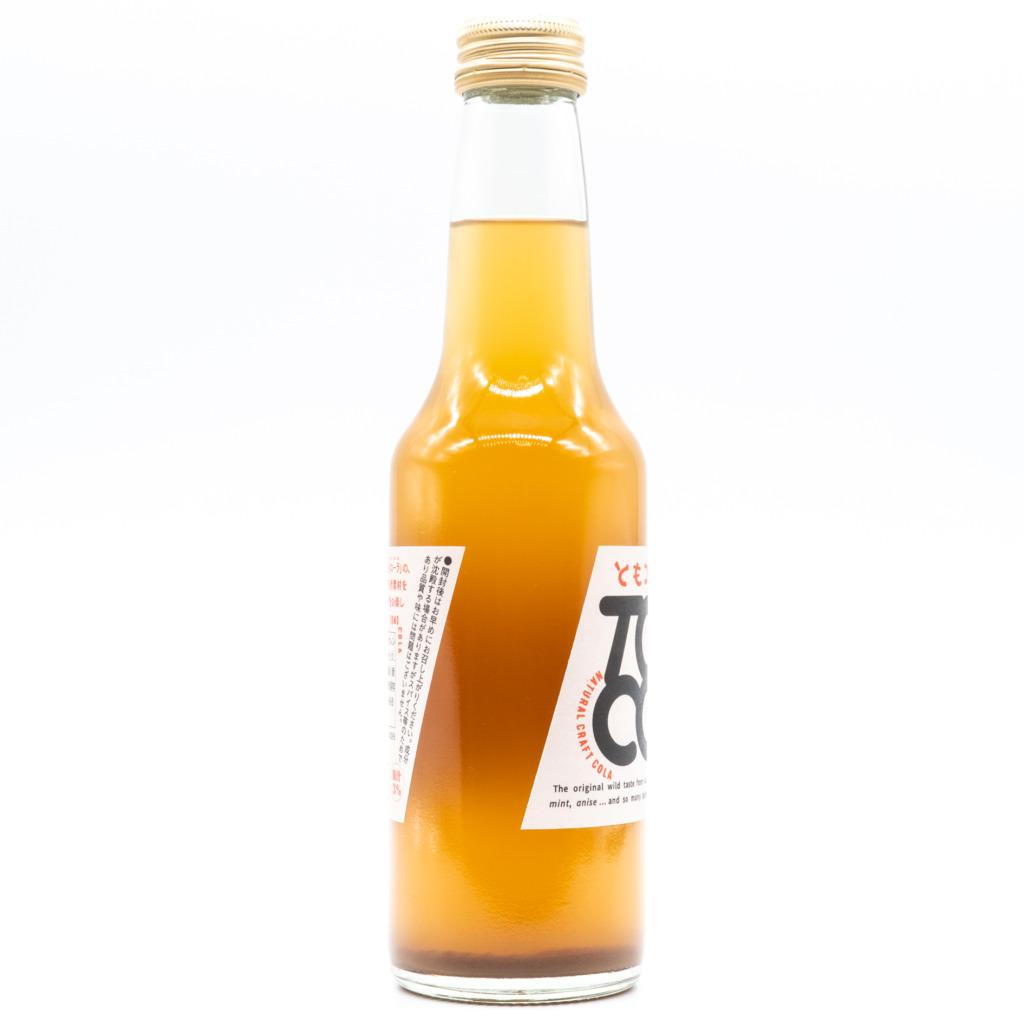 ともコーラ(瓶)、横面