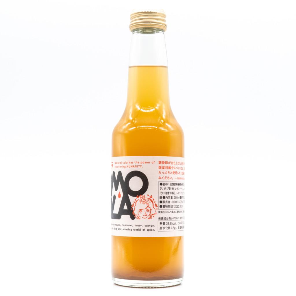 ともコーラ(瓶)、横面2