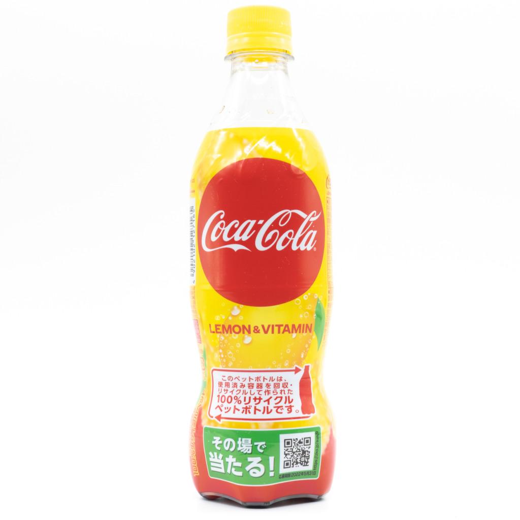 コカコーラレモンビタミン、正面2