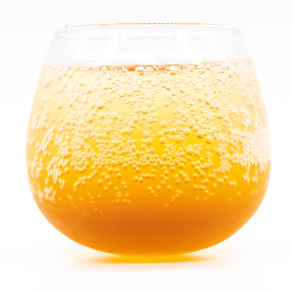 kombucha_cola、グラス