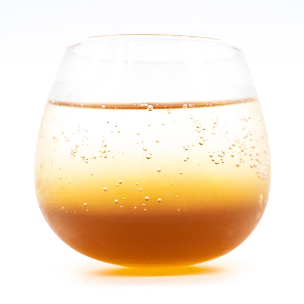ピパーチコーラ、グラス