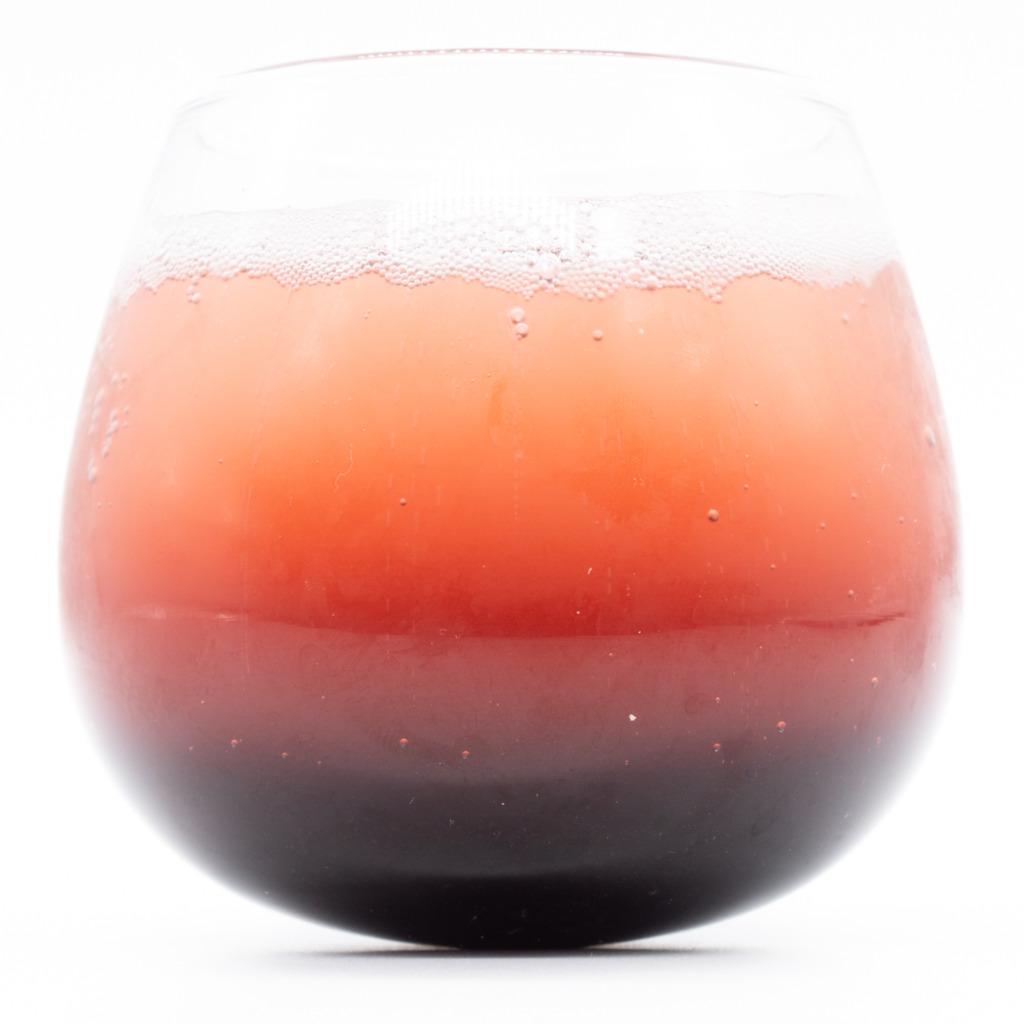 もとコーラ 真紅のコーラ、グラス